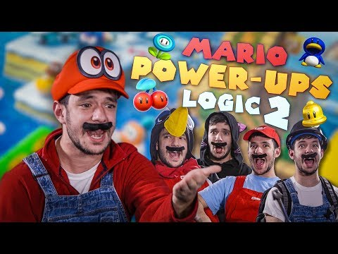 MARIO POWER-UPS LOGIC IN REAL LIFE 2