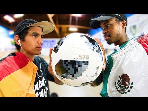 GERMANY VS MEXICO WORLD CUP GAME OF SKATE