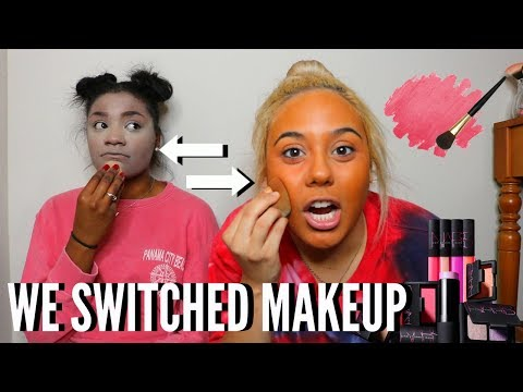 Thumbnail: ME AND MY BEST FRIEND SWITCH MAKEUP!!!