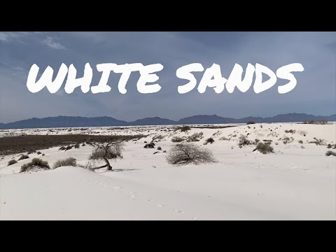 EL PASO TEXAS and WHITE SANDS NATIONAL MONUMENT - TRAVEL VLOG