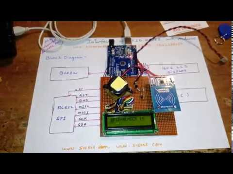 Interfacing of RFID RC522 with Arduino