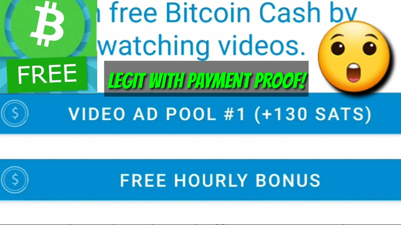 EARN BITCOIN CASH (BCH) BY WATCHING 15-30 SECS ADS AND CLAIM FREE SATOSHI EVERY HOUR BY THIS APP!