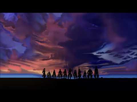Attack on titan season 3 ending 1 lyrics - Akatsuki no requiem lyrics