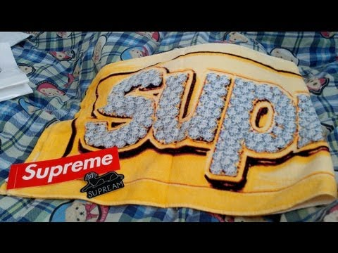 Supreme Bling Mini Towel Gold Spring Summer 2013 Accessories