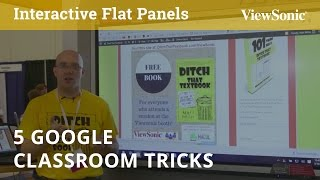 5 Google Classroom Tricks You Will Want to Know with Matt Miller (MACUL)
