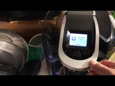 How to clean a used keurig coffee maker