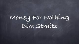 Money for Nothing-Dire Straits Lyrics