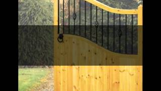 A Range Of Wooden & Metal Gates By Garden Gate Sale
