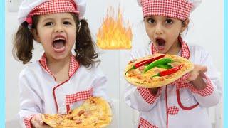 تحدي البيتزا بعجلة الحظ