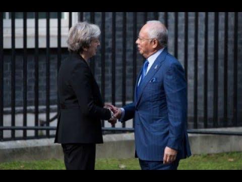 Najib bertemu Theresa May