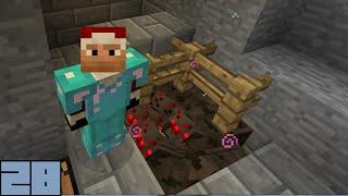 Minecraft Survival - Spider Farming [E028]