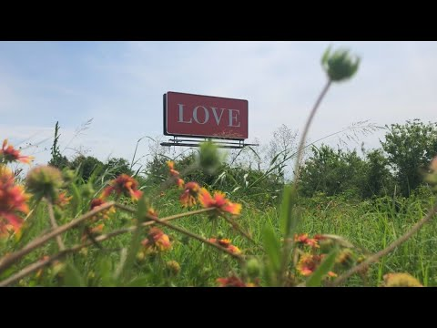 News Around The Lone Star State - FROM KCEN - Central Texas woman pays for billboard to spread love