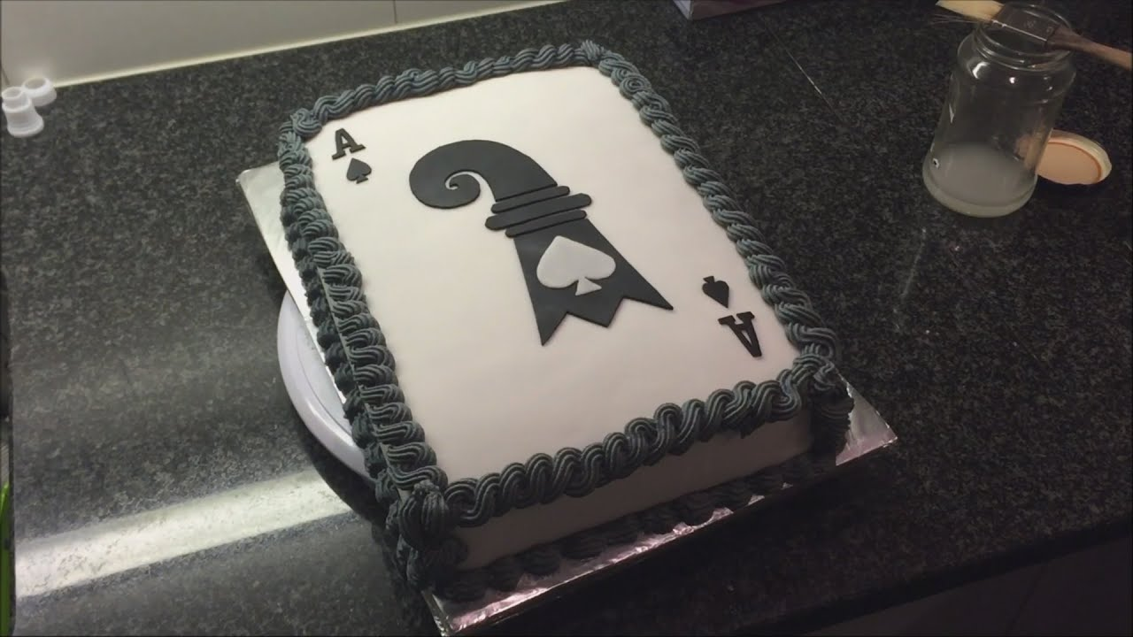 Ptb Ace Of Spade Cake Youtube