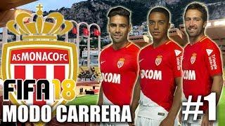 UN NUEVO COMIENZO!!!... DESDE FRANCIA - FIFA 18 Modo Carrera AS MONACO #1