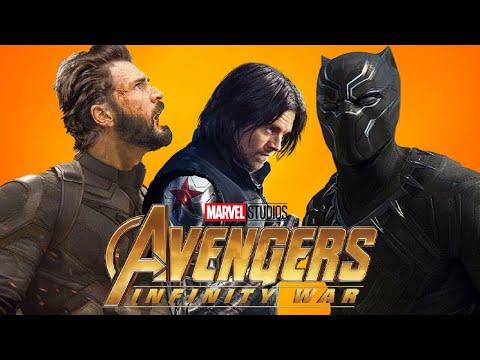 Avengers Infinity War: Black Panther and Bucky's Vibranium Arm!