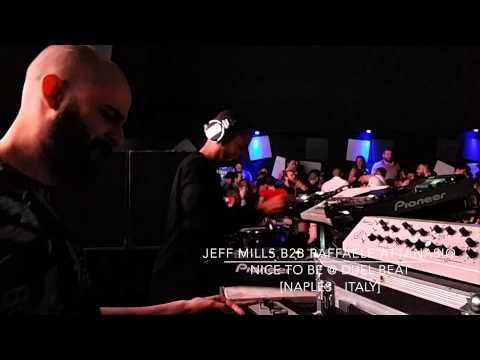 JEFF MILLS B2B RAFFAELE ATTANASIO @  DUEL BEAT Naples Italy
