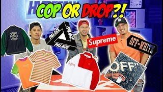 UPCOMING HYPED CLOTHING & ACCESSORIES - COP OR DROP?!