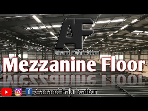"""Industrial Steel Mezzanine Floor in Pune M.I.D.C By """"Anand Fabrication""""."""