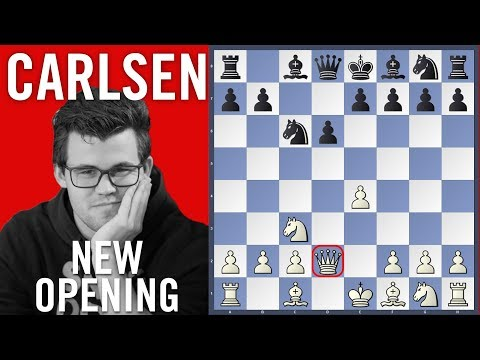 Carlsen vs Wojtaszek - New Opening | Shamkir Chess 2018 | Ro