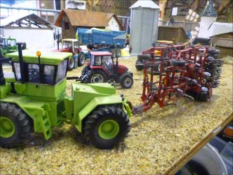 Diorama agricole janvier .
