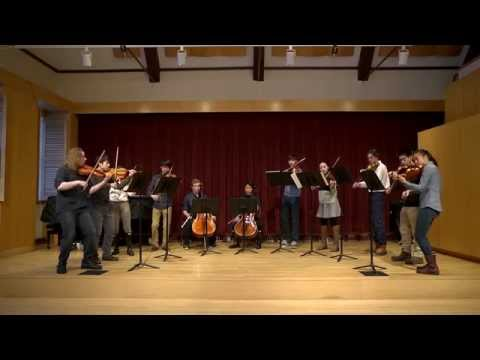 Andover Chamber Ensemble practices for Shanghai trip
