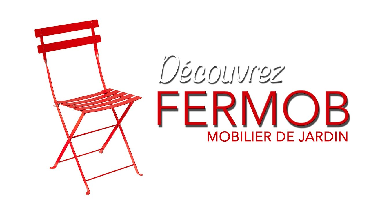 fermob chaise bistro chaise fermob chroniqueur jardin franck prost youtube. Black Bedroom Furniture Sets. Home Design Ideas