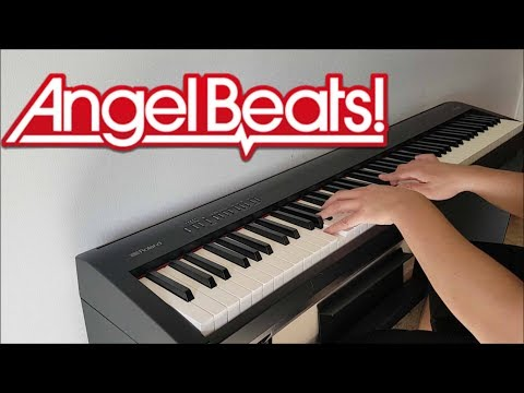 Angel Beats! Opening  My Soul, your Beats! Piano w Lyrics