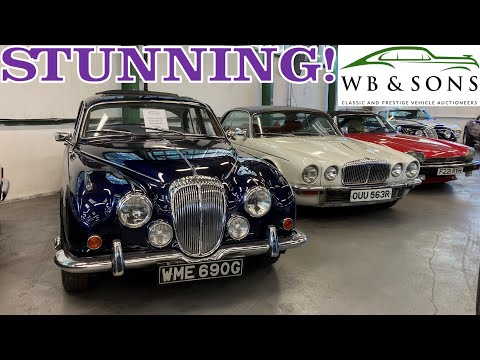 STUNNING Daimler 250 V8 and Double Six Coupe At Auction! WB & Sons October 2021 Auction Preview