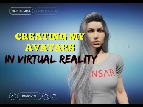 CREATING MY AVATAR For My VR Experience W/ SANSAR