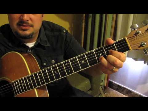 U2 - With or Without You - Super Beginner Easy Songs on Acoustic Guitar Lessons