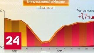 Россия в цифрах. Цены на жилье в Москве. Сентябрь 2016 года(, 2016-10-12T07:21:42.000Z)