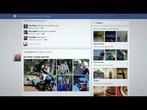 التصميم الجديد للفيس بوك لعام 2013--The new design of Facebook for 2013
