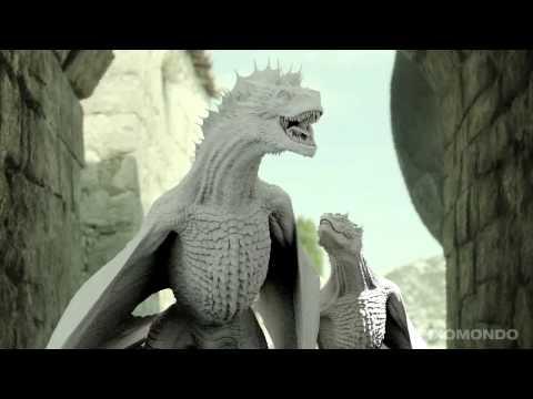 Как создавались драконы для сериала Игра престолов