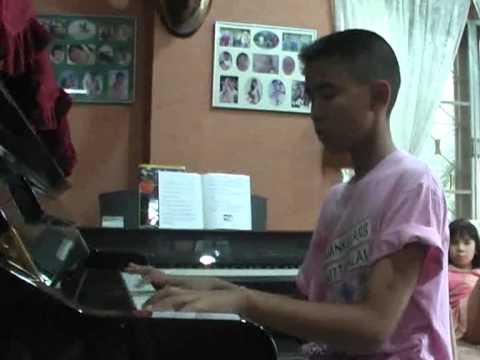 พรหมลิขิต ost วนิดา  piano by เด็กสวนนนท์ฯ