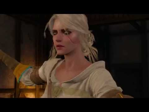 The Witcher 3: Ciri has 2nd, invisible sword