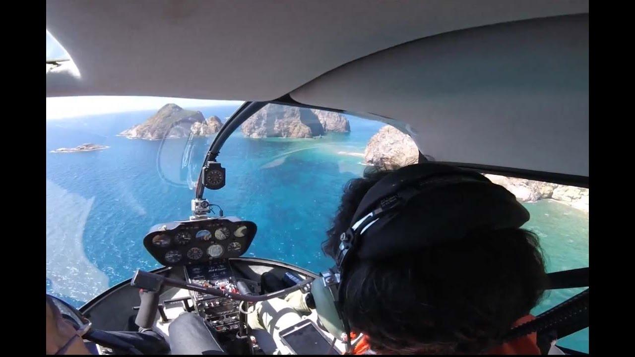 Elicottero R66 : Elicottero robinson ponza e palmarola youtube