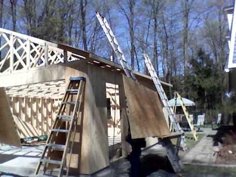 Ladder Hoist Plywood Youtube