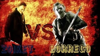 Leatherface vs. Michael Myers // Super Batallas de Rap - BHR Ft. Zoiket