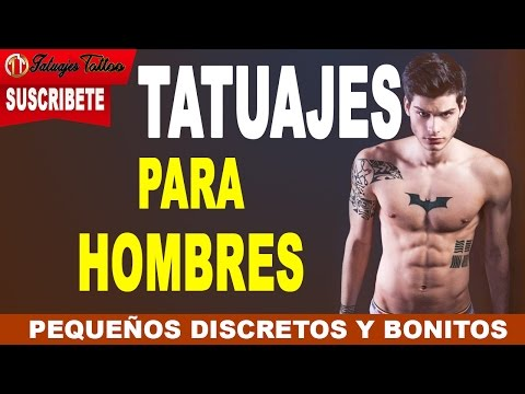 Tatuajes pequeños para Hombres con DISCRECCIÓN y bonitos que enamoran por su sencillez y elegancia