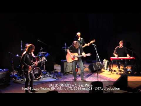 BASED ON LIES – Cheap Wine live@Spazio Teatro 89, Milano (IT), 2016 oct. 08 - @TAVproduction