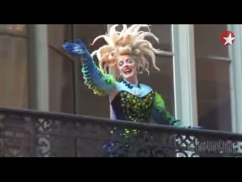 "Behind the Scenes: Sherie Rene Scott Transforms into Ursula for Broadway's ""The Little Mermaid"""