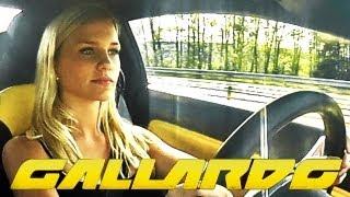 Repeat youtube video 18 Year old girl driving a Lamborghini Gallardo in 240 km/h (150mp/h)