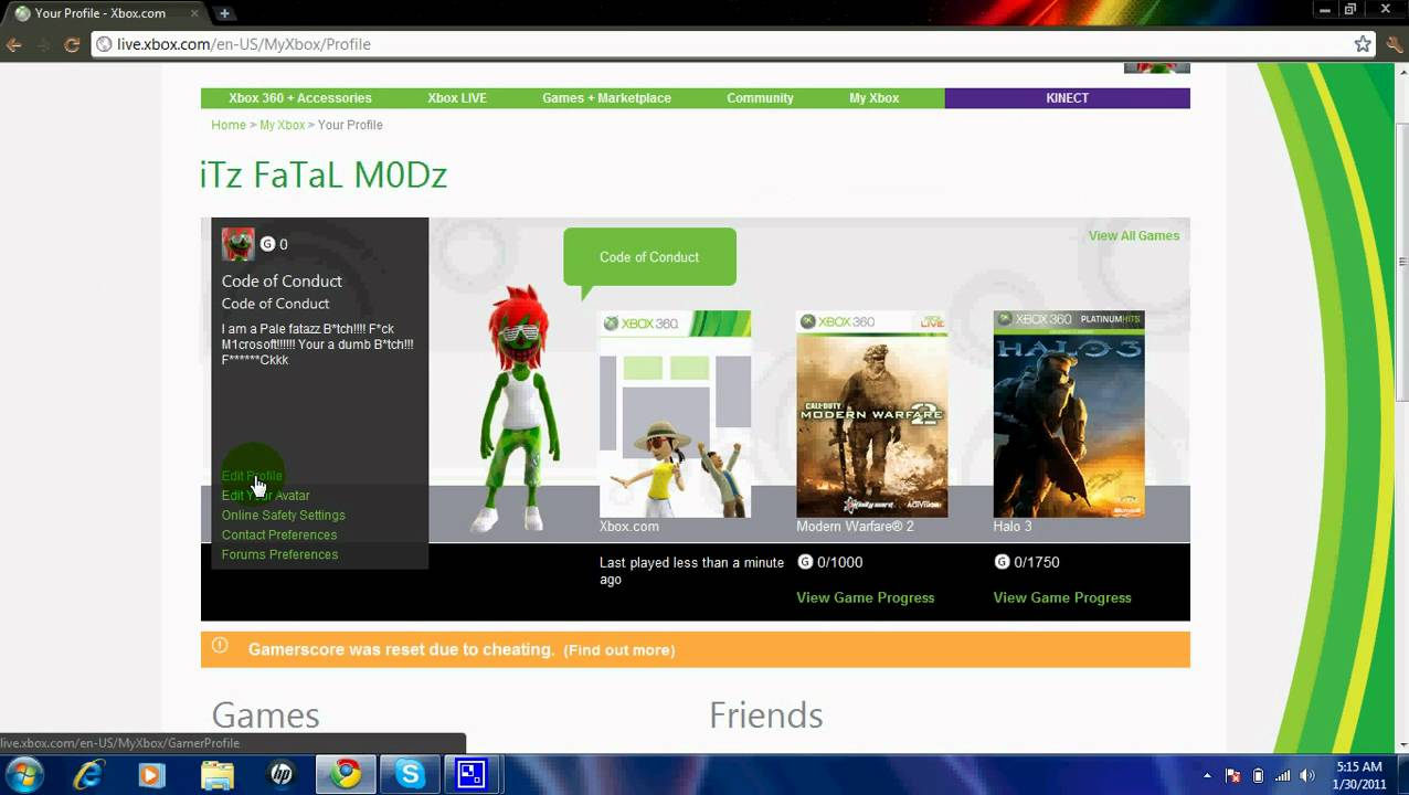 how to cancel xbox live account