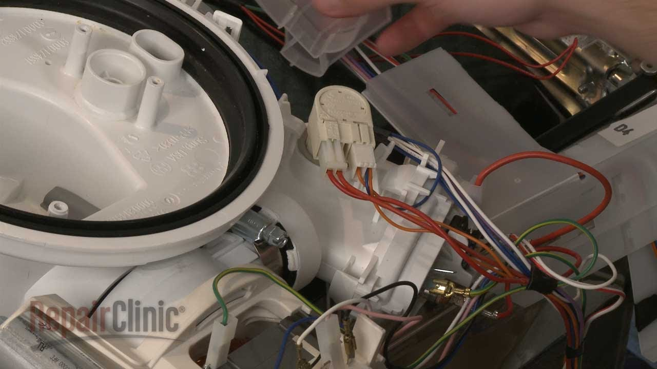 Bosch Dishwasher Thermistor Replacement Repair 00165281  YouTube