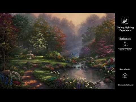 Reflections of Faith by Thomas Kinkade Studios - Gallery Lighting Experience