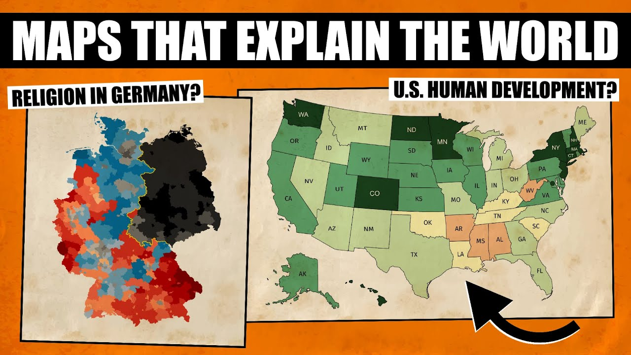 Maps That Help You Understand The World