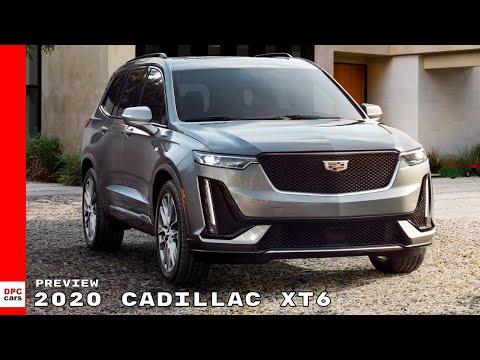 2020 Cadillac XT6 Preview