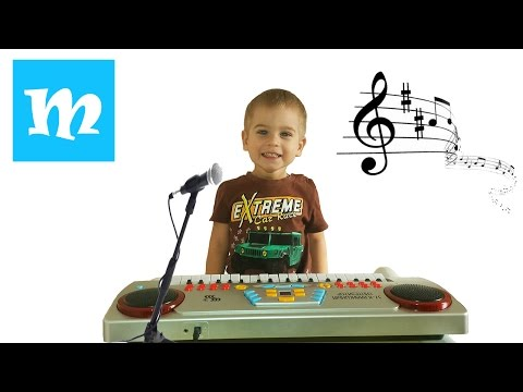 Маша и Медведи детская игрушка микрофон интерактивный (подробный обзор)
