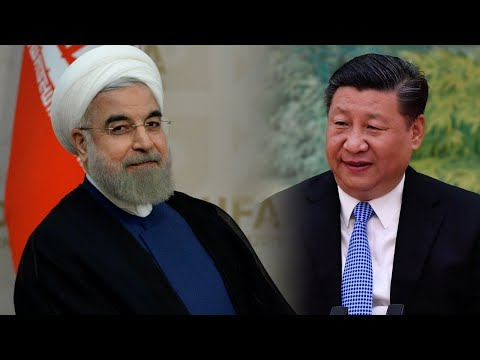 Iranian President Hassan Rouhani and Chinese President Xi Jinping., From YouTubeVideos