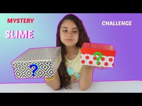 Elije la CAJA Misteriosa de Slime | cambio de cajas slime challenge